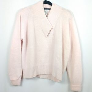 Vintage Blush Lamb Wool & Angora Sweater Yarnworks